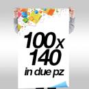 Manifesti 100x140 - a partire da € 1,20 cad (1 foglio)