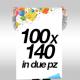Manifesti 100x140  € 1,40 (1 fogli)