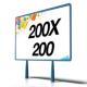Manifesti 200x200 - (2 Fogli)