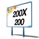Manifesti 200x200 - a partire da € 3,50 cad (2 Fogli)