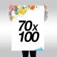 Manifesti 70x100  € 0,70